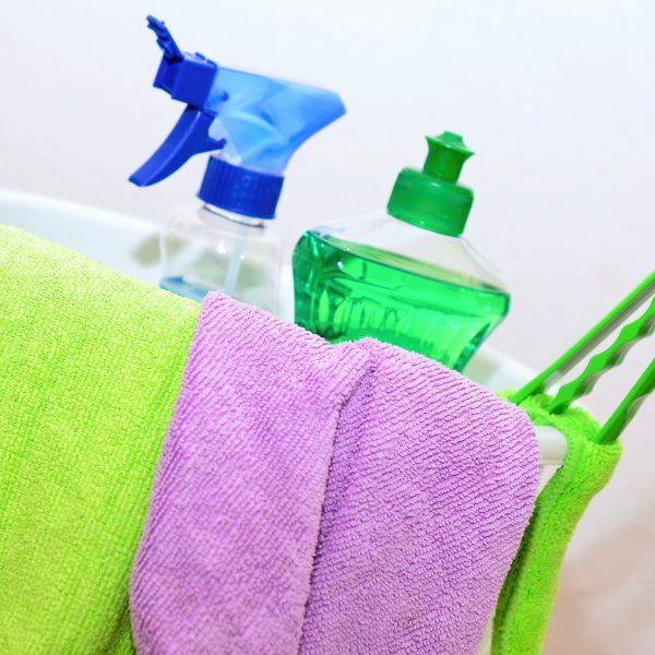 Diverse reinigings-en onderhoudsmiddelen